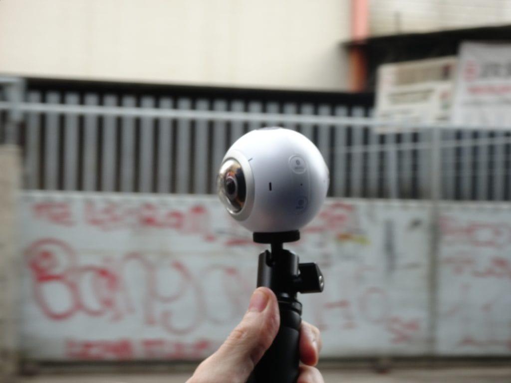 Unsere kleine Begleiterin: Die Samsung Gear 360 Grad Kamera (2016)