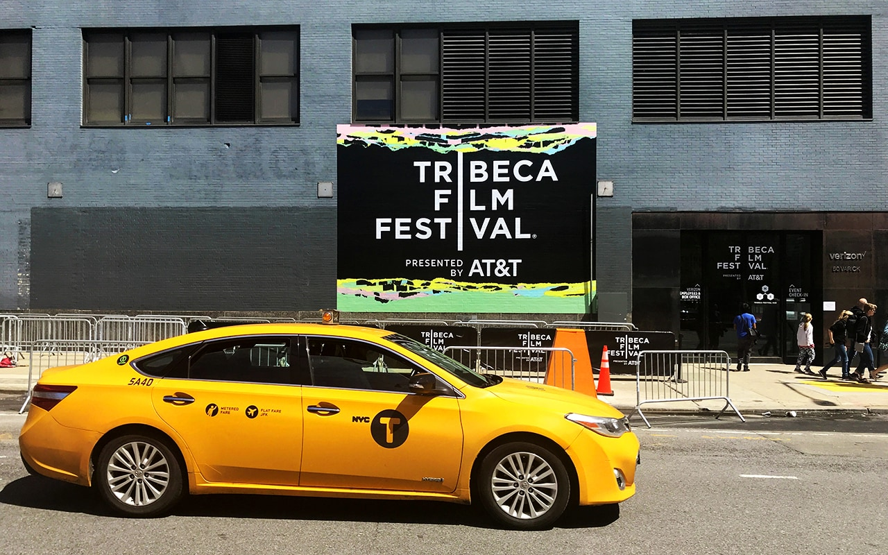 Tribeca Film Festival: in front of the Virtual Arcade. © Pola Weiß/ VR Geschichten