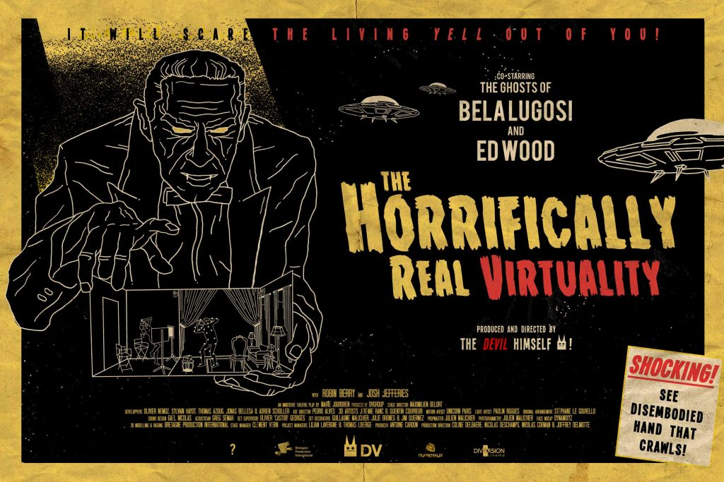 The Horrifically Real Virtuality © DVgroup