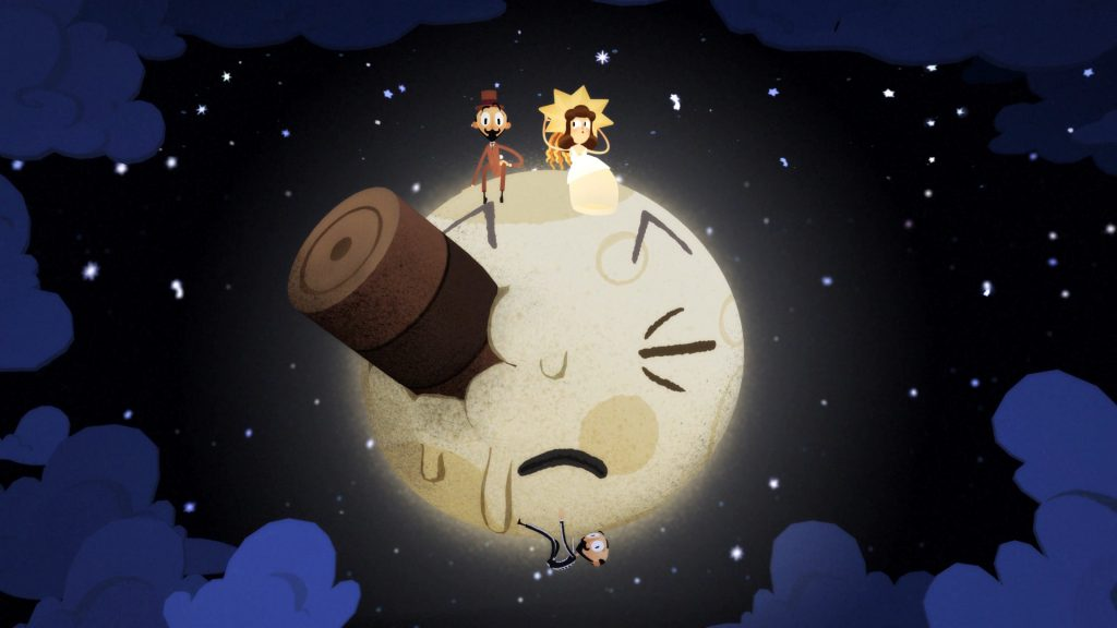 Google Spotlight Stories: Back To The Moon. © Google Inc.