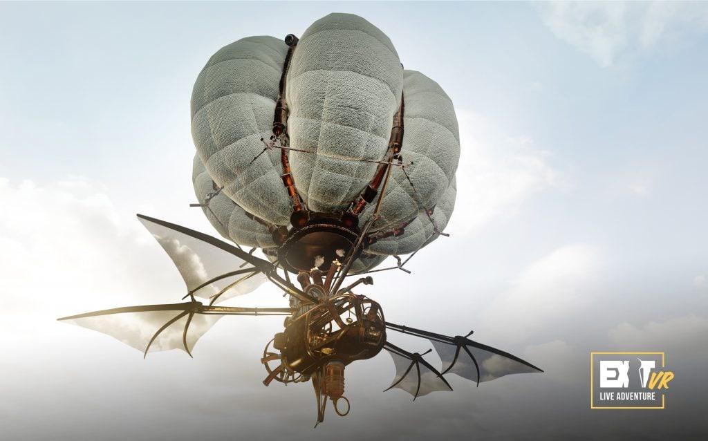 Das Luftschiff aus Huxley 2 von Exit VR© EXIT Adventures GmbH