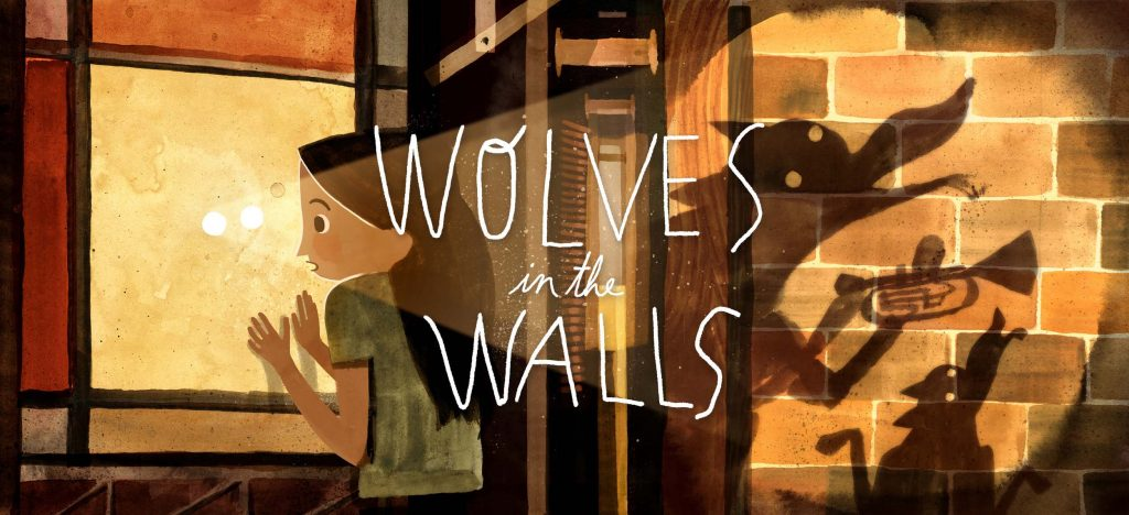 Wolves In The Walls borrows various impulses from immersive theater like the use of light and dark. © Fable Studio