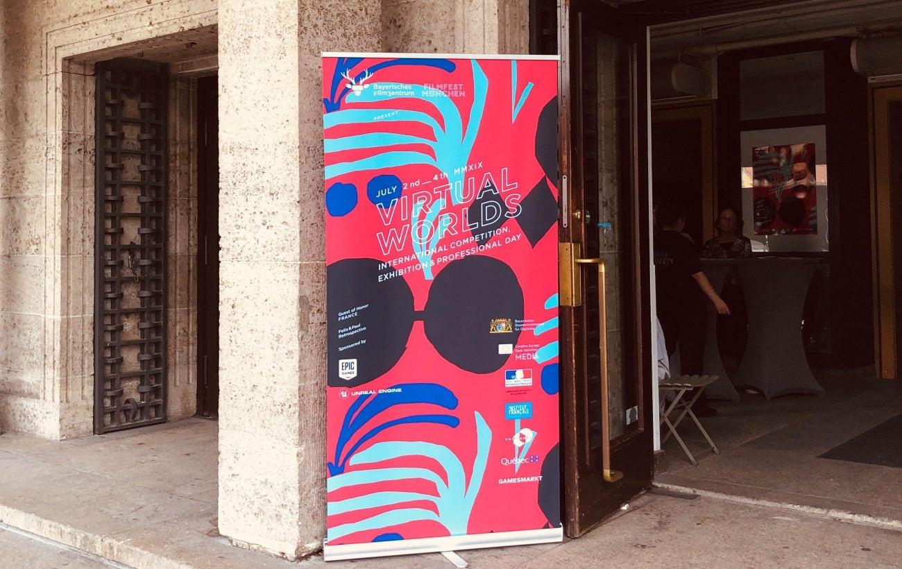 Virtual Worlds beim Filmfest München: VR an der Isar