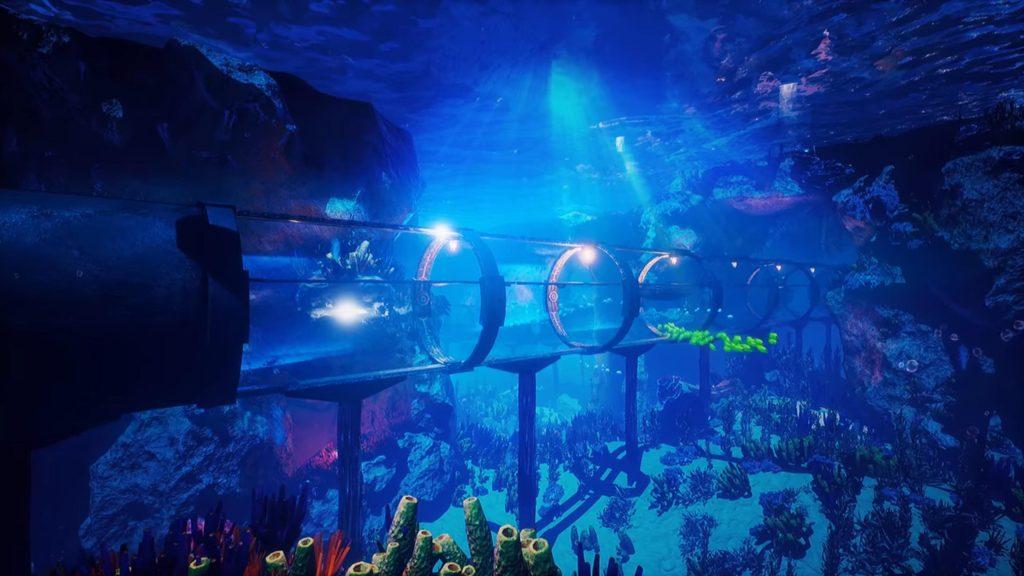 Schöne Unterwasser-Welt bei Lost Sanctuary Deluxe. © Anvio